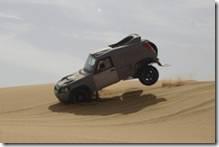 Nadav flies over the dunes