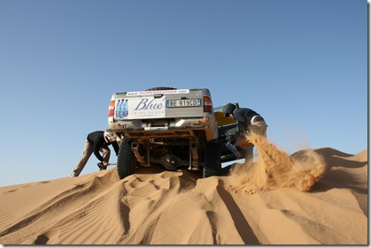 digging in the dunes