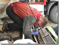 Pally works on alternator